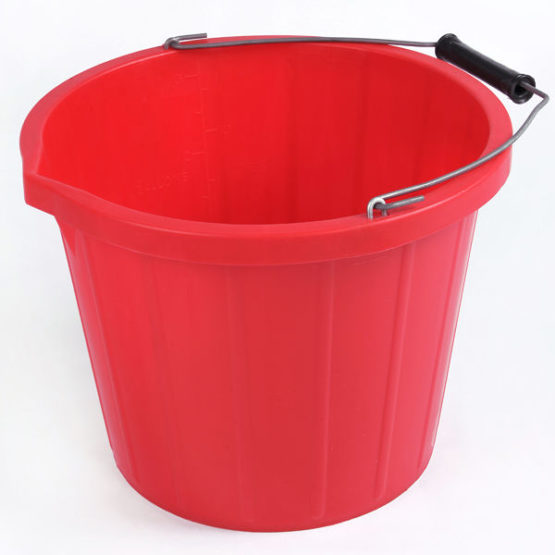 coloured-bucket-red